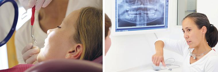 Beratung Zahnarztpraxis Dr. Bausch Poing